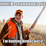 Ted Cruz hunting democracy - CrabDiving