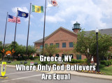 Greece New York No Non-Believers Allowed