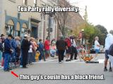 Tea Party Rally diversity - CrabDiving