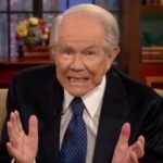 Pat Robertson it's ok if husband was accidentally gay once
