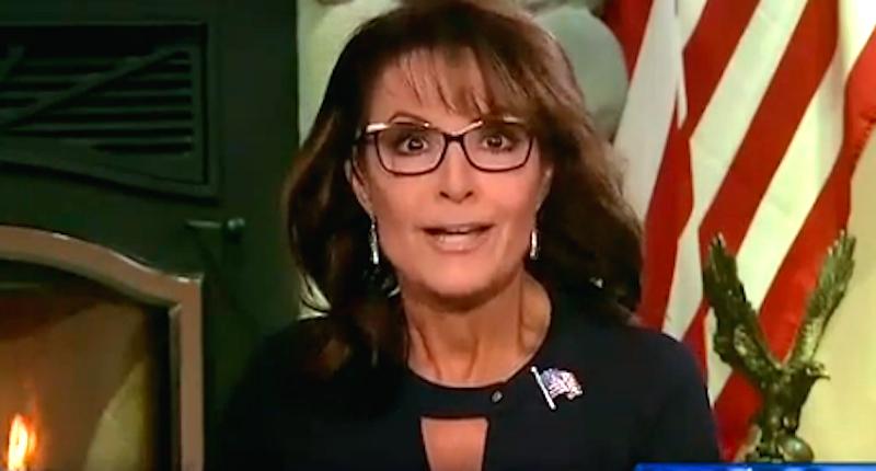 Sarah Palin on Hannity mad at FOX