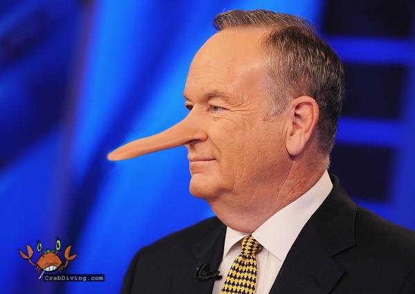 Bill O'Reilly liar
