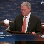 Inhofe tosses snowball to disprove climate change