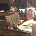 Iowa State Rep Ross Paustian Reads Sex After Sixty In Session