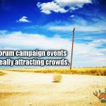 Santorum campaign fail