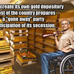 Texas gold depository