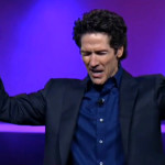 joel osteen collection plate celebration