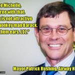racist Washington mayor Patrick Rushing