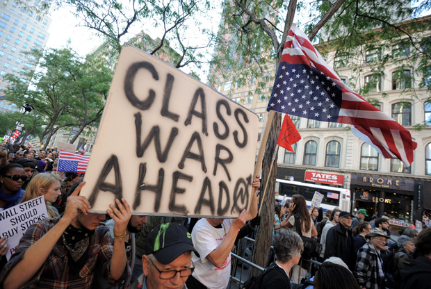 occupy wall street protest