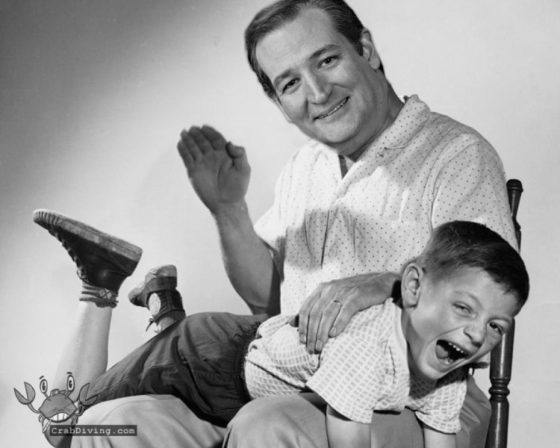 Cruz Recommends Spanking - CrabDiving