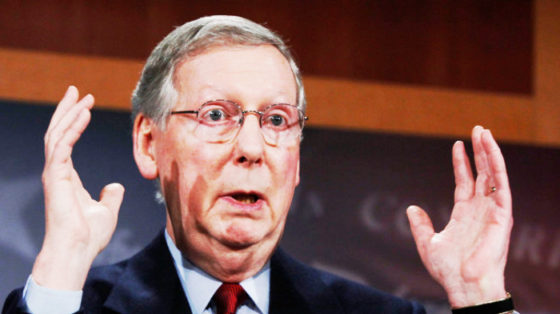 mcconnell disses trump
