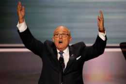 GOP Convention Fearmongering - Giuliani