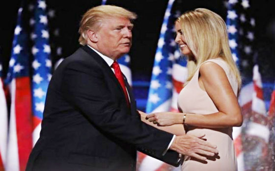 Trump Gropes Ivanka
