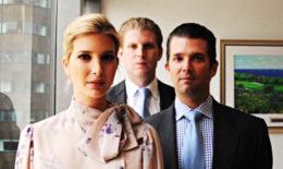lying trump children