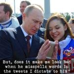 Putin spellchecks trump tweets - CrabDiving