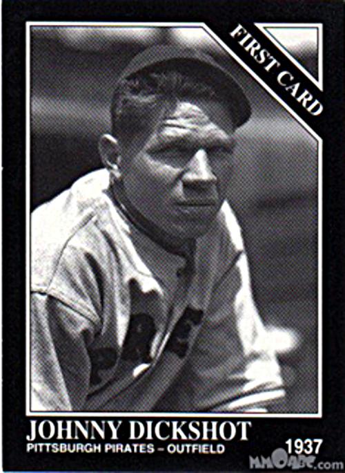 Johnny Dickshot baseball