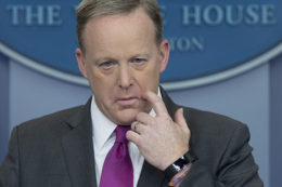 sean spicer lies