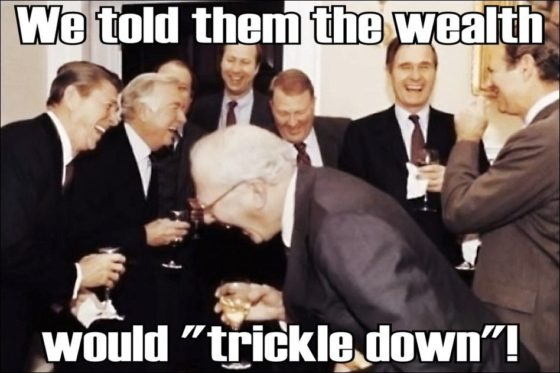 trickle down tax reform