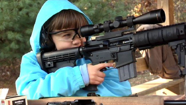 armed Wisconsin toddlers